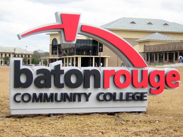 Baton Rouge Community CollegeEducation Aluminum,Dimensional Letters,Custom Sign