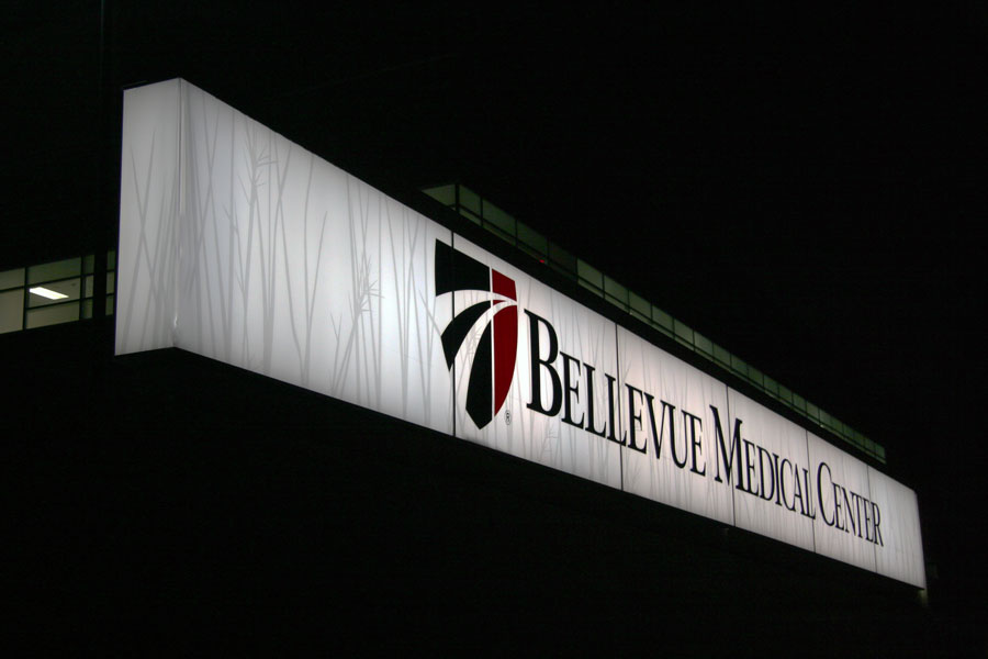 Bellevue Medical CenterHealthcare Custom Sign