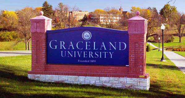 Graceland UniversityEducation Aluminum,Custom Sign