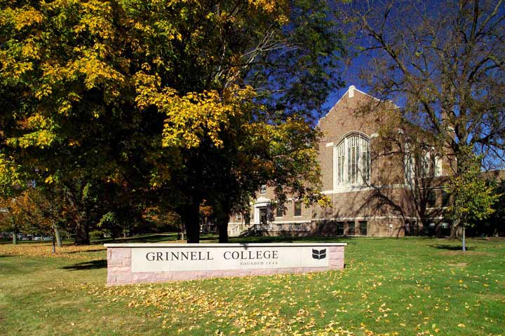 Grinnell CollegeEducation Aluminum,Digital,Custom Sign