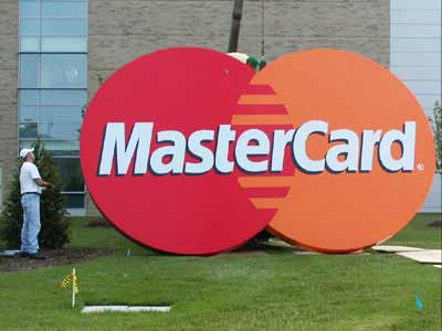 MasterCardCorporate Dimensional Letters,Custom Sign