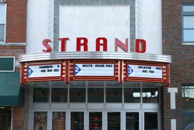 Strand TheatreRetail Aluminum,Dimensional Letters Sign