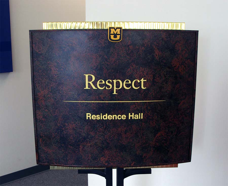University of MissouriEducation Aluminum,Custom Sign